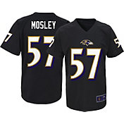 NFL Team Apparel Youth Baltimore Ravens C.J. Mosley #57 Black T-Shirt