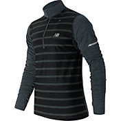New Balance Men's Performance Merino Half Zip Running Long Sleeve Shirt