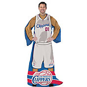 Northwest Los Angeles Clippers Uniform Full Body Comfy Throw