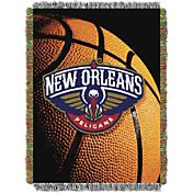 Northwest New Orleans Pelicans Photo Real Throw Blanket