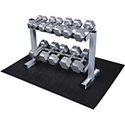 Powerline PDR282X Hex Dumbbell Rack and Set
