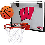 Rawlings Wisconsin Badgers Game On Backboard Hoop Set