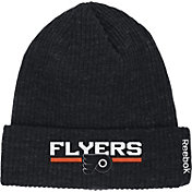 Reebok Men's Philadelphia Flyers Center Ice Cuffed Knit Hat