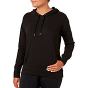 Reebok Women's Plus Size Solid Brushed Fleece Hoodie