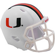 Riddell Miami Hurricanes Pocket Speed Single Helmet