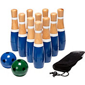 Hey! Play! 8'' Wooden Lawn Bowling Set