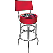 Trademark Games Chicago Bulls Padded Swivel Bar Stool with Back