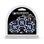 Team Golf New York Yankees Poker Chips Ball Markers - 3-Pack