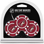 Team Golf Arizona Coyotes Poker Chips Ball Markers - 3-Pack