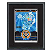 That's My Ticket New York Knicks Carmelo Anthony Sports Propaganda Framed Serigraph
