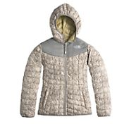 The North Face Girls' Thermoball Reversible Insulated Hooded Jacket