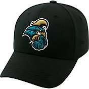 Top of the World Men's Coastal Carolina Chanticleers Black Premium Collection M-Fit Hat