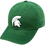 Top of the World Men's Michigan State Spartans Green Crew Adjustable Hat