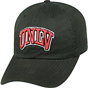 Top of the World Men's UNLV Rebels Black Crew Adjustable Hat