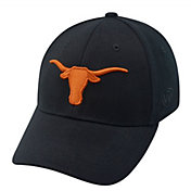Top of the World Men's Texas Longhorns Black Premium Collection M-Fit Hat