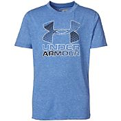 Under Armour Boys' Hybrid Big Logo T-Shirt