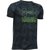 Under Armour Boys' Big Logo Printed T-Shirt
