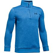 Under Armour Boys' Uniform Quarter-Zip Golf Sweater