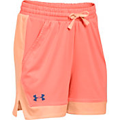 Under Armour Girls' Armour Sports Basketball Shorts