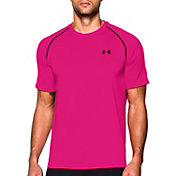 Under Armour Men's Power in Pink Tech T-Shirt