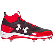 Under Armour Men's Heater Mid ST Baseball Cleats