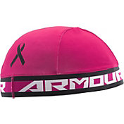 Under Armour Pink HeatGear Skull Cap