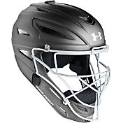Under Armour Youth Solid Matte Pro Series Catcher's Helmet