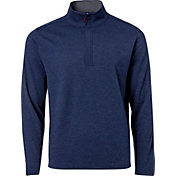 Walter Hagen Men's Essentials Interlock Woven Quarter-Zip Golf Jacket