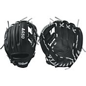 "Wilson 10.75"" Youth Dustin Pedroia A450 Series Glove"