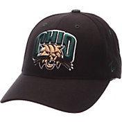 Zephyr Men's Ohio Bobcats Black Competitor Adjustable Hat