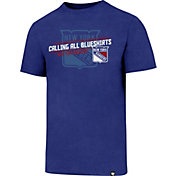 '47 Men's New York Rangers Slogan Club Royal T-Shirt