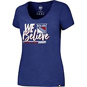 '47 Women's 2017 NHL Stanley Cup Playoffs New York Rangers Royal T-Shirt