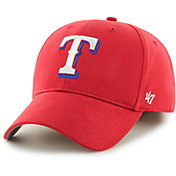 '47 Youth Texas Rangers Basic Red Adjustable Hat