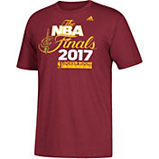 adidas Men's 2017 Eastern Conference Champions Cleveland Cavaliers Locker Room Burgundy T-Shirt