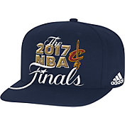 adidas Men's 2017 Eastern Conference Champions Cleveland Cavaliers Locker Room Navy Adjustable Snapback Hat
