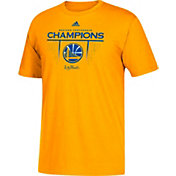 adidas Men's 2017 Western Conference Champions Golden State Warriors Roster Gold T-Shirt