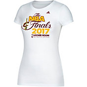 adidas Women's 2017 Eastern Conference Champions Cleveland Cavaliers Locker Room White T-Shirt