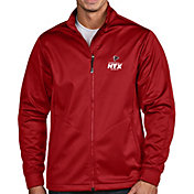 Antigua Men's Super Bowl LI Bound Atlanta Falcons Full-Zip Red Golf Jacket