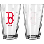 Boelter Boston Red Sox 16oz. Satin Etched Pint Glass