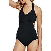 CALIA by Carrie Underwood Women's Cutout Cross Back Swimsuit