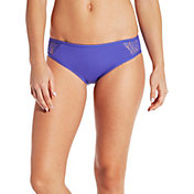 CALIA by Carrie Underwood Women's Lace Pieced Bikini Bottoms