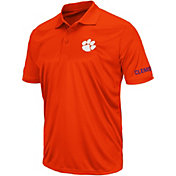Colosseum Athletics Men's Clemson Tigers Orange Performance Polo