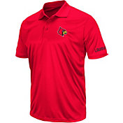 Colosseum Athletics Men's Louisville Cardinals Cardinal Red Performance Polo