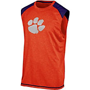 Champion Men's Clemson Tigers Orange Muscle Tee