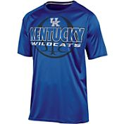 Champion Men's Kentucky Wildcats Blue Impact Basketball T-Shirt