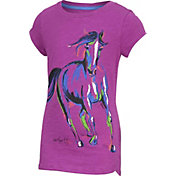 Carhartt Girls' Painterly Horse Slub T-Shirt