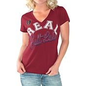 G-III For Her Women's Real Salt Lake Homefield Red Slub T-Shirt