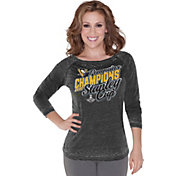 Touch by Alyssa Milano NHL Stanley Cup Champions Pittsburgh Penguins Raglan Long Sleeve Shirt