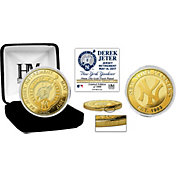Highland Mint New York Yankees Derek Jeter Jersey Retirement Gold Coin