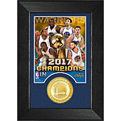 Highland Mint 2017 NBA Finals Champions Golden State Warriors 'M' Series Photo Mint